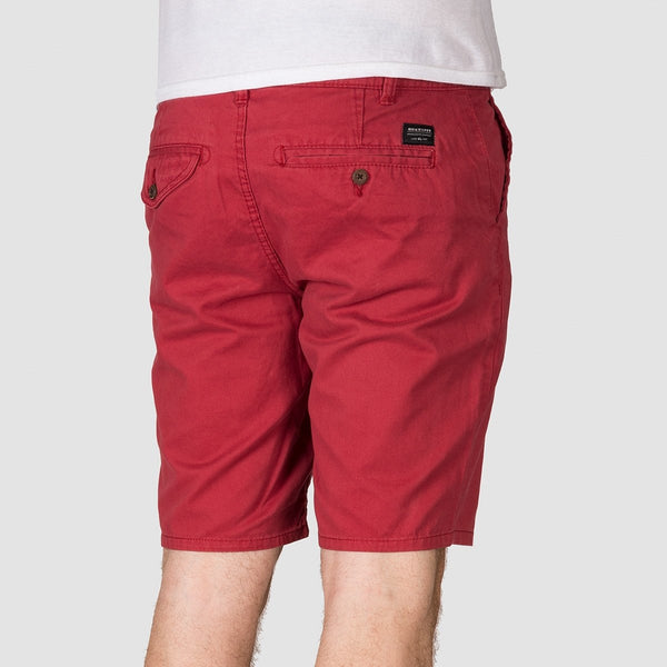 Quiksilver Everyday Chino Shorts Brick Red - Clothing