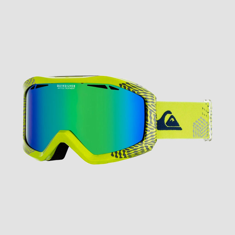 Quiksilver Fenom Snow Goggles Lime Green
