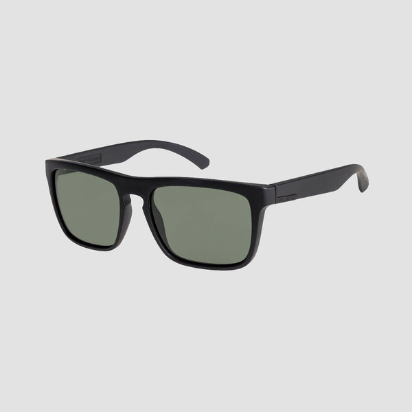 Quiksilver Ferris Premium Sunglasses Matte Black/Mineral Glass Green Polarised