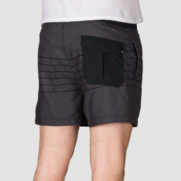 Quiksilver Fineline 15 Swim Shorts Black - Clothing