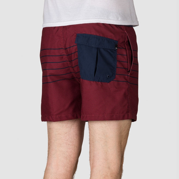 Quiksilver Fineline 15 Swim Shorts Brick Red - Clothing