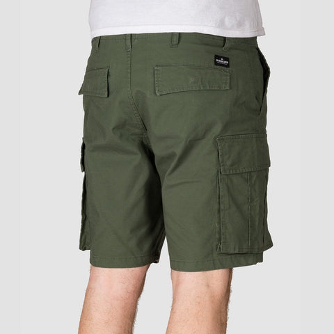 Quiksilver Free Mantle Cargo Shorts Thyme - Clothing