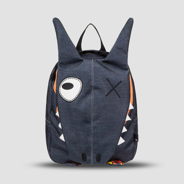 Quiksilver Funny 6L Animal Backpack Dark Grey Heather - Kids