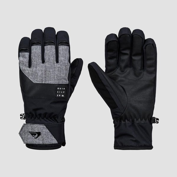 Quiksilver Gates Snow Gloves Black - Snowboard