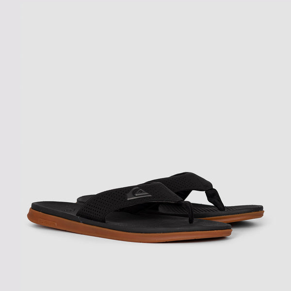 Quiksilver Haleiwa Plus Sandals Black/Black/Brown