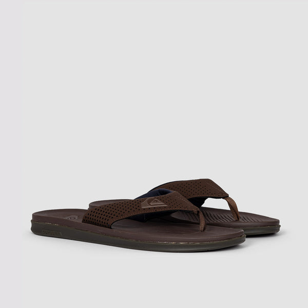 Quiksilver Haleiwa Plus Sandals Brown/Brown/Brown