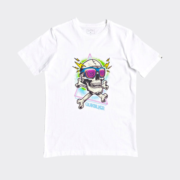 Quiksilver Hell Revival Tee White - Kids
