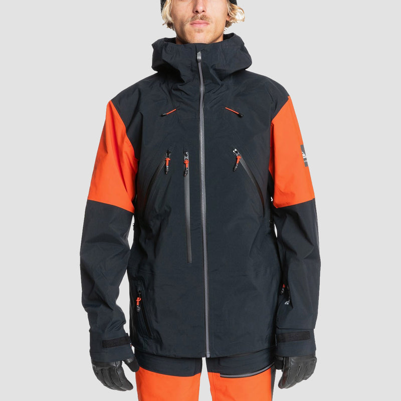 Quiksilver Highline Pro 3L Gore-Tex Snow Jacket True Black