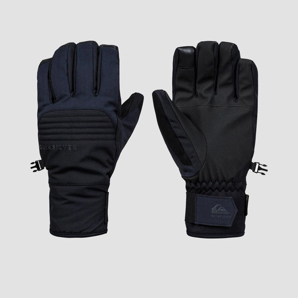 Quiksilver Hill Gore-Tex Snow Gloves Black - Snowboard