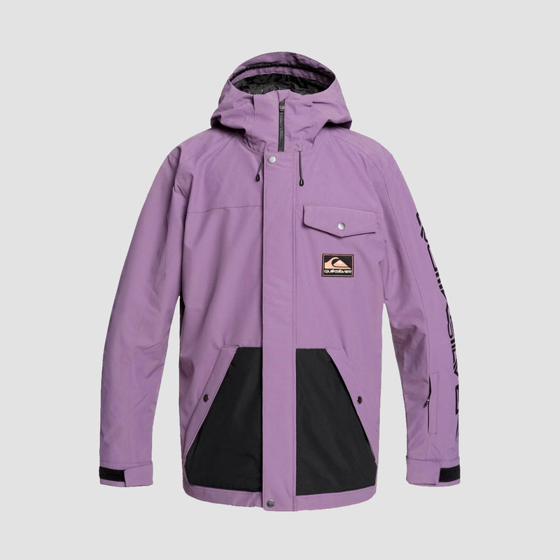 Quiksilver In The Hood Snow Jacket Grape Compote