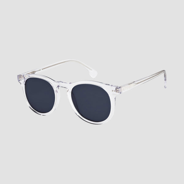 Quiksilver Jericho Sunglasses Shiny Crystal Clear/Grey