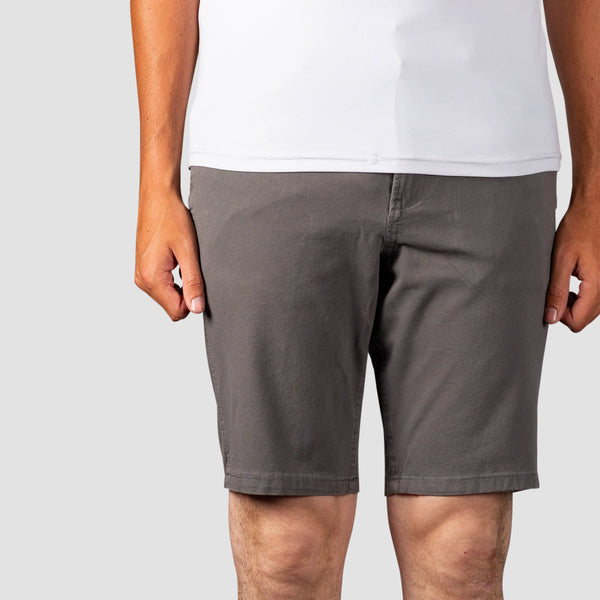 "Quiksilver Krandy 21"" Chino Shorts Quiet Shade"