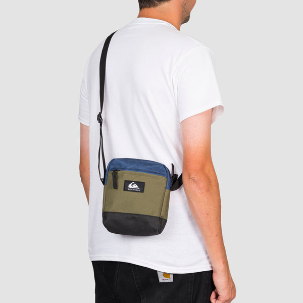 Quiksilver Magicall 2L Shoulder Bag Burnt Olive