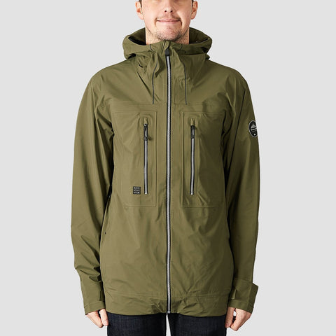 Quiksilver Mamatus 3L Gore-Tex Shell Snow Jacket Grape Leaf