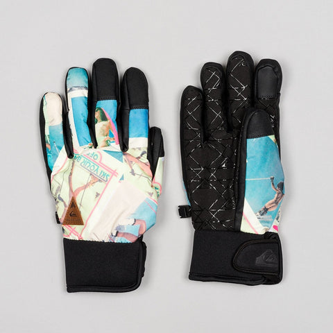 Quiksilver Method Snow Gloves Nude Run