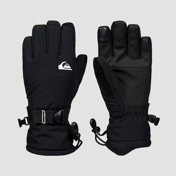 Quiksilver Mission 8-16 Years Snow Gloves Black - Kids