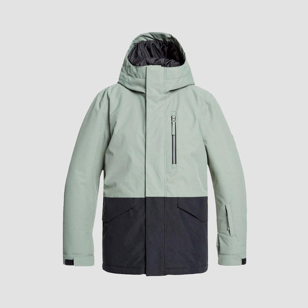 Quiksilver Mission Snow Jacket Agave Green - Kids
