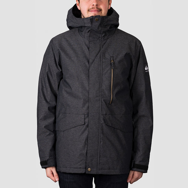 Quiksilver Mission Snow Jacket Black