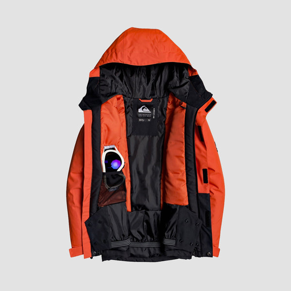 Quiksilver Mission Snow Jacket Poinciana - Kids