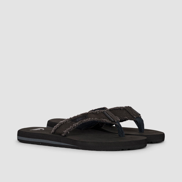 Quiksilver Monkey Abyss Sandals Black/Black/Brown - Kids