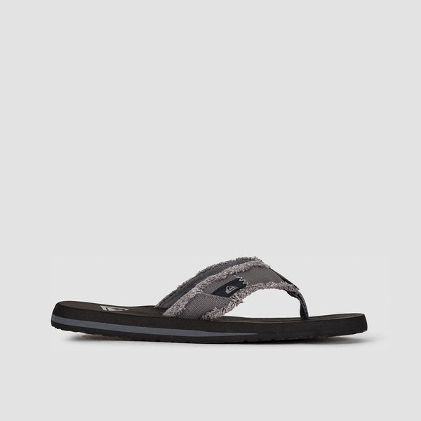 Quiksilver Monkey Abyss Sandals Grey/Black/Brown - Footwear