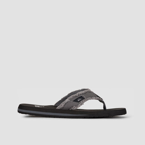 Quiksilver Monkey Abyss Sandals Grey/Black/Brown