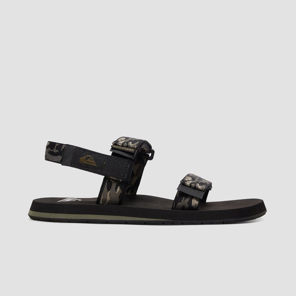 Quiksilver Monkey Caged Sandals Green/Black/Green