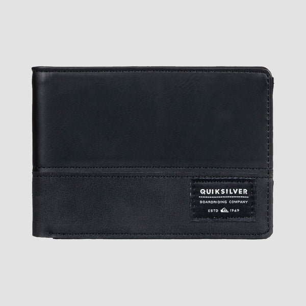 Quiksilver Nativecountry Bi-Fold Wallet Black