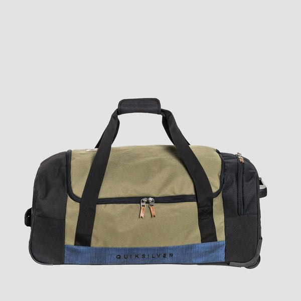 Quiksilver New Centurion 60L Wheeled Duffle Bag Burnt Olive