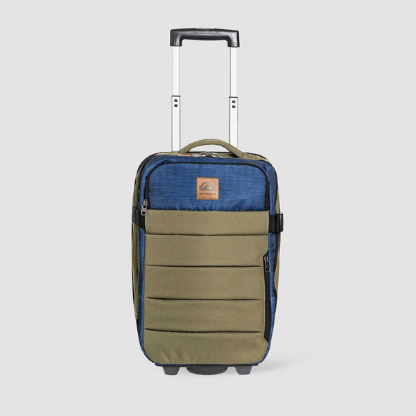 Quiksilver New Horizon 32L Wheeled Cabin Suitcase Burnt Olive