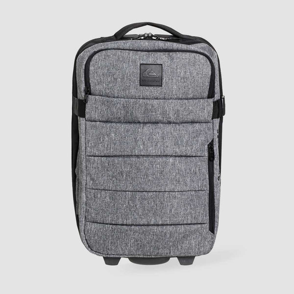 Quiksilver New Horizon 32L Wheeled Cabin Suitcase Light Grey Heather