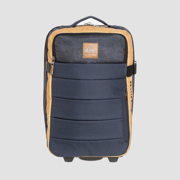 Quiksilver New Horizon 32L Wheeled Suitcase Honey Heather
