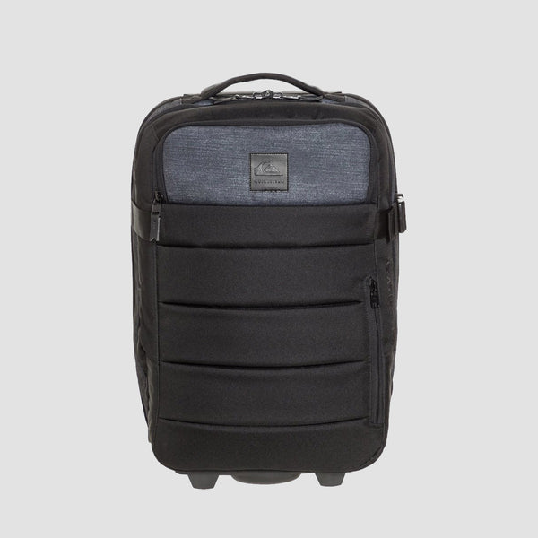 Quiksilver New Horizon 32L Wheeled Suitcase Black