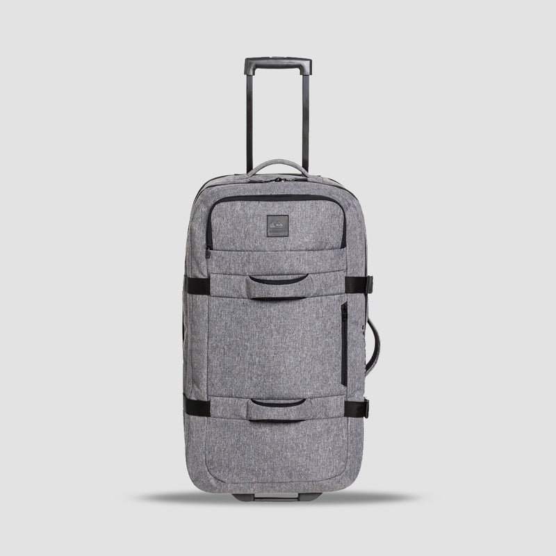 Quiksilver New Reach 100L Wheeled Suitcase Light Grey Heather