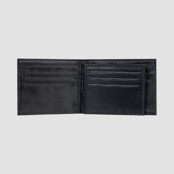 Quiksilver New Stitchy Tri-Fold Wallet Black