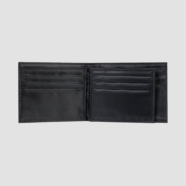 Quiksilver New Stitchy Tri-Fold Wallet Chocolate Brown