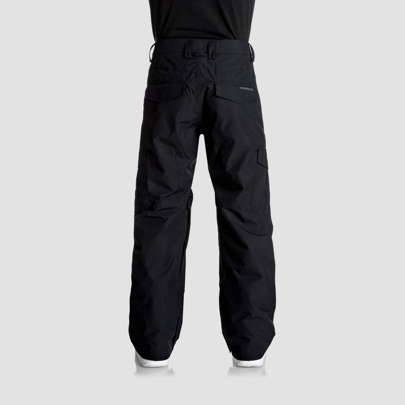 Quiksilver Porter Snow Pants Black