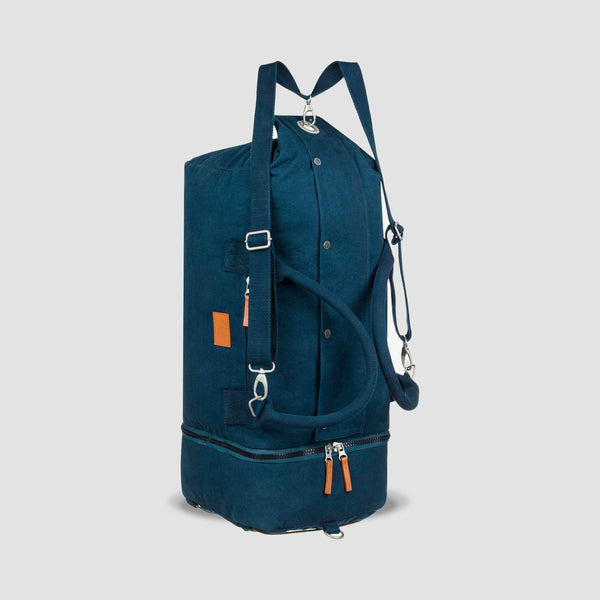 Quiksilver Premium Weekend 42L Convertible Duffle Bag Backpack Moonlit Ocean