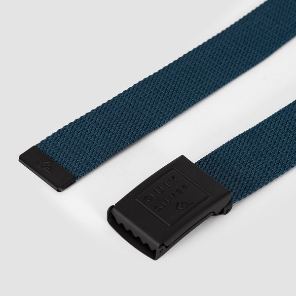 Quiksilver Principle Web Belt Majolica Blue