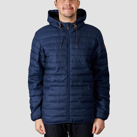 Quiksilver Scaly Puffer Jacket Medieval Blue Heather