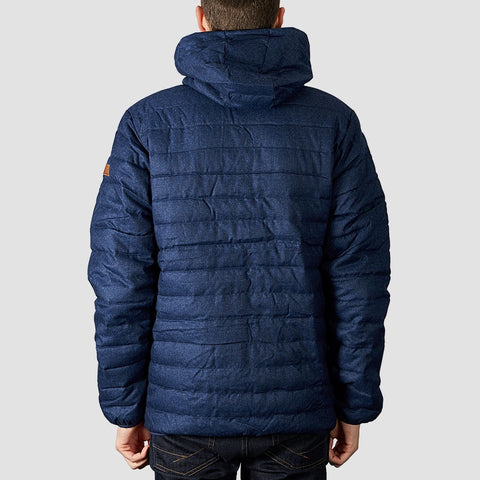 Quiksilver Scaly Puffer Jacket Medieval Blue Heather - Clothing