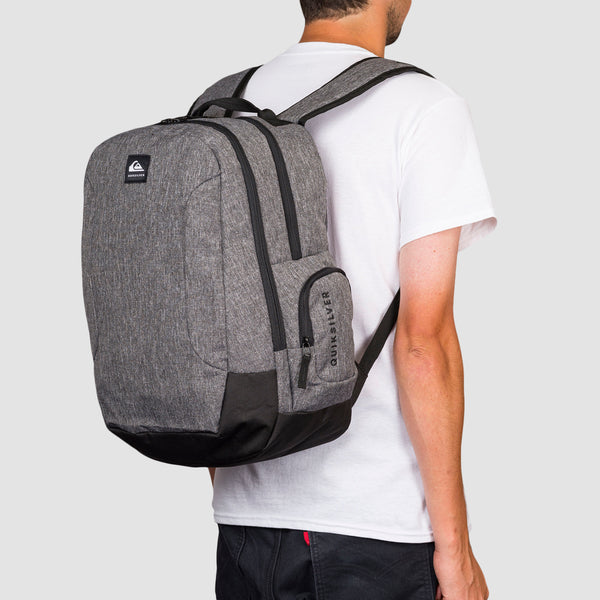 Quiksilver Schoolie 30L Backpack Light Grey Heather
