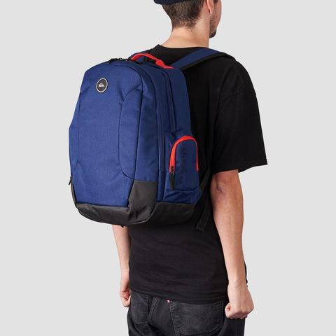 Quiksilver Schoolie 30L Backpack Medieval Blue - Accessories