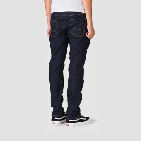 Quiksilver Sequel Rinse Regular Fit Jeans Rinse - Clothing