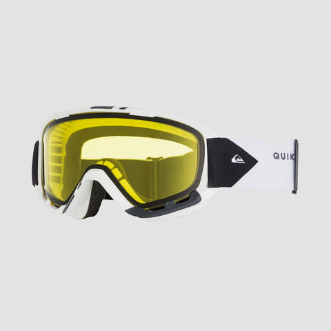 Quiksilver Sherpa Bad Weather Snow Goggles Snow White