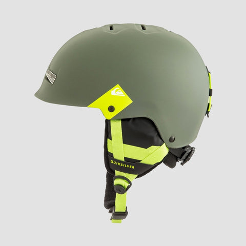 Quiksilver Skylab SRT Snow Helmet Grape Leaf