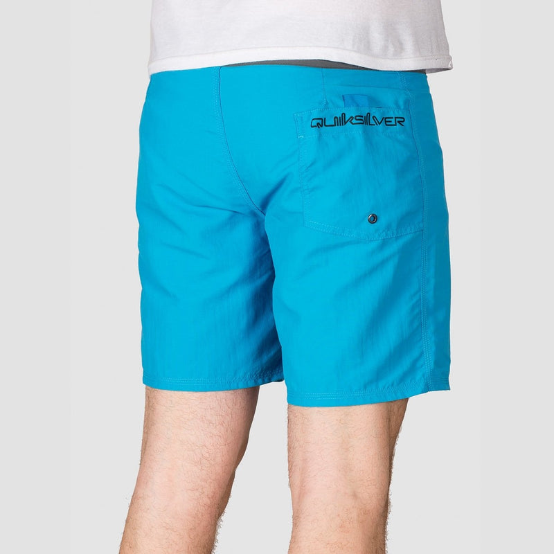 Quiksilver Solid Snap Vee 17 Boardshorts Malibu Blue - Clothing