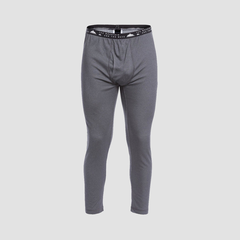 Quiksilver Territory Polartec Base Layer Bottoms Iron Gate