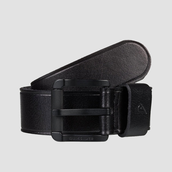 Quiksilver The Everydaily II Leather Belt Black