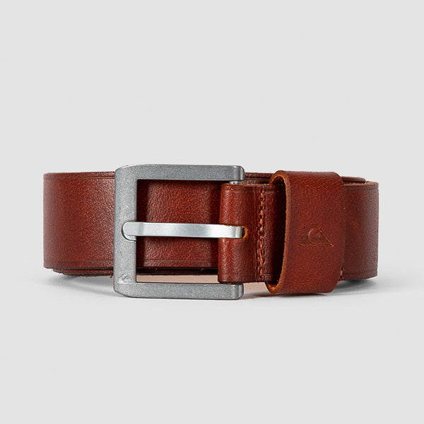 Quiksilver The Everydaily Leather Belt Rubber